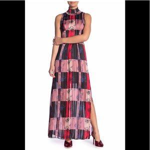 NWT BCBG GENERATION MOCK NECK SLEEVELESS DRESS 12